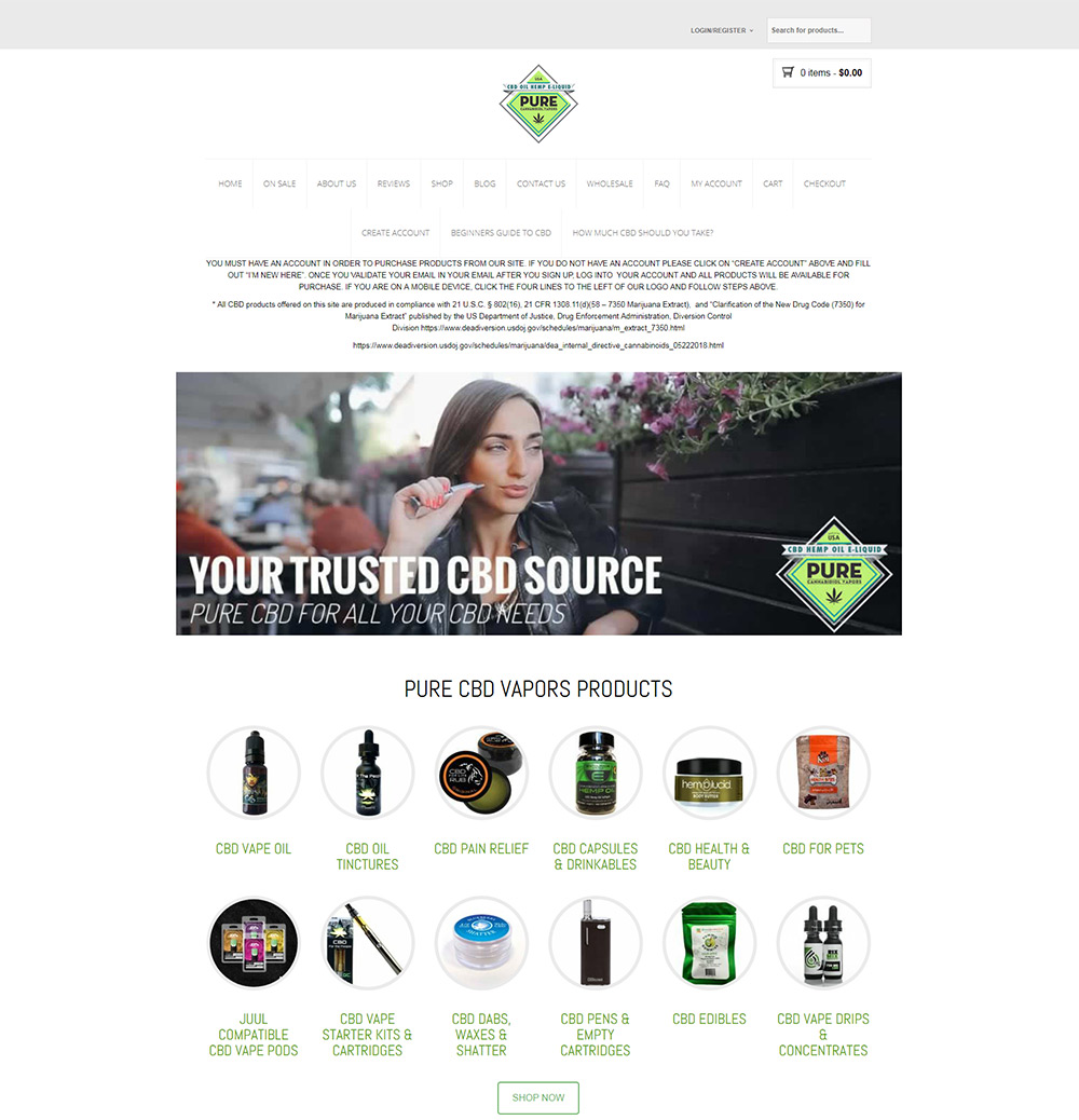 Pure CBD Vapors Affiliate Program