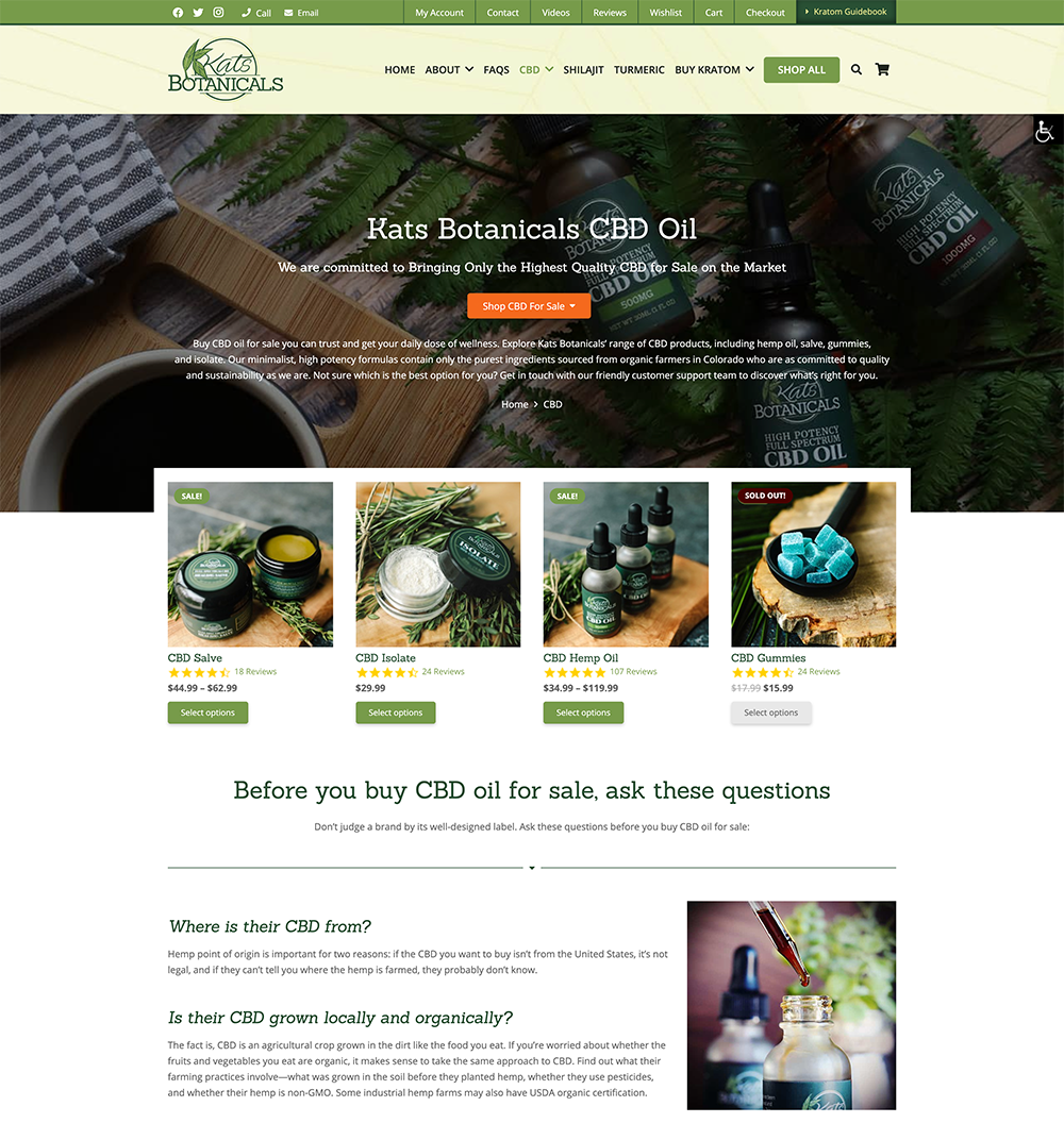 Kats Botanicals Affiliate Program