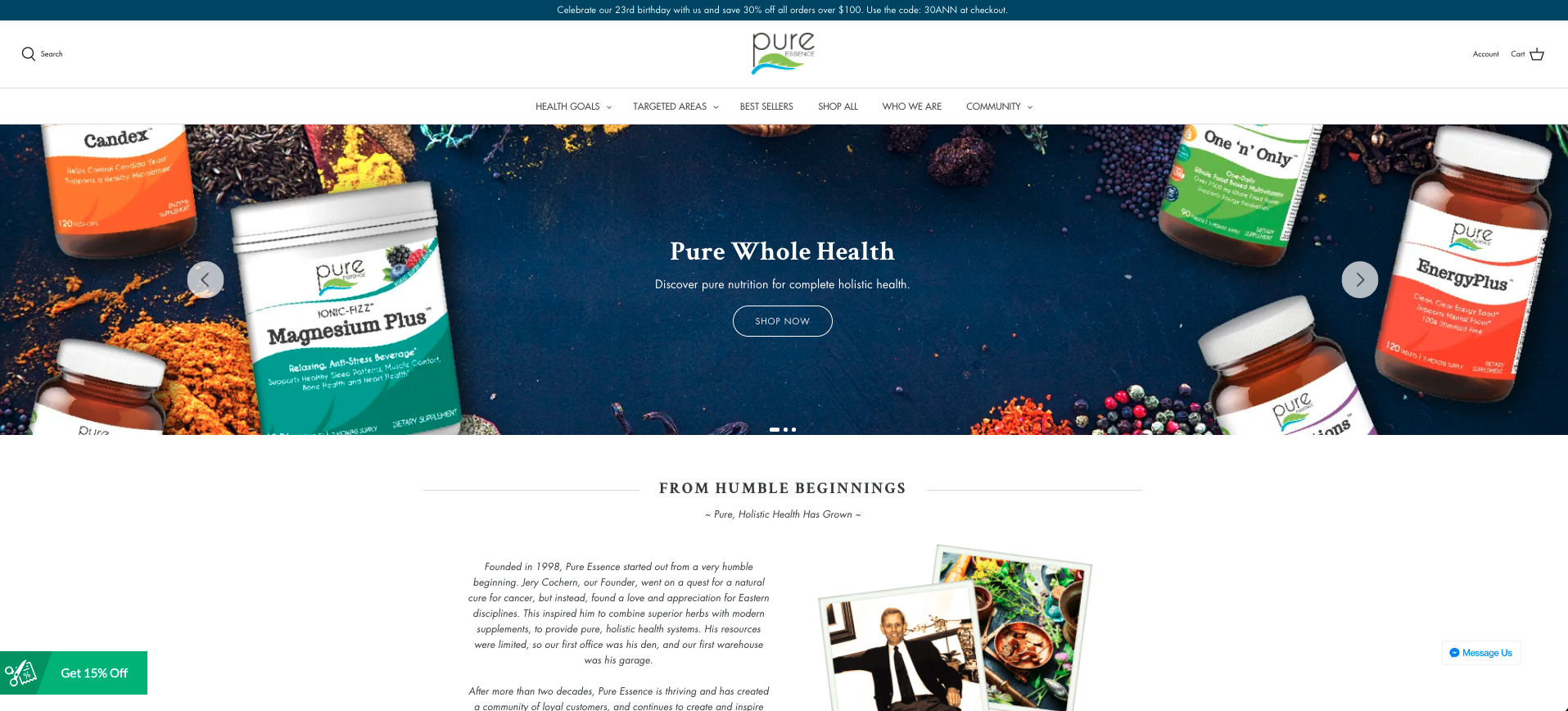 Pure Essence Labs Affiliate Program