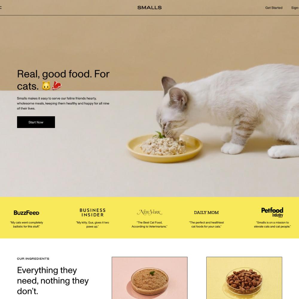 Smalls Cat Food Affiliate Program